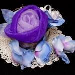 Artificial handmade roses — Stock Photo #2239327