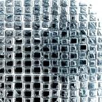 Transparent boxes — Stock Photo