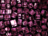 Purple squares — Stock Photo
