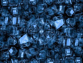 Blue squares — Stock Photo