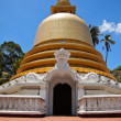 Buddhist dagoba (stupa) in Golden Temple — Stockfoto