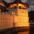 Temple of the Tooth. Evening. Sri Lanka - Stock Photo