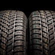 Royalty-Free Stock Photo: Tire close up