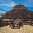 Ancient Buddhist dagoba (stupe) Pabula V — Stock Photo