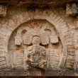 Ancient Mayan relief - Stock Photo