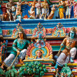 Gopuram (tower) of Hindu temple — Stock Photo #1084771