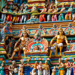 Gopuram (tower) of Hindu temple — Stock Photo #1089319