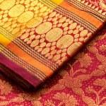 Indian saris — Stock Photo
