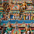 Gopuram (tower) of Hindu temple — Stock Photo