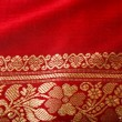 Indian sari close up — Stock Photo