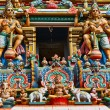 Gopuram (tower) of Hindu temple — Stock fotografie