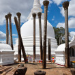 Stock Photo: Ancient Thuparama Dagoba (stupa)