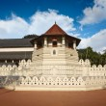 Temple of the Tooth. Sri Lanka — Stock Photo