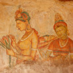 Постер, плакат: Sigiriya frescoes
