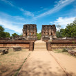Royal Palace ruins — Stock Photo