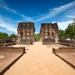 Royal Palace ruins - Stock Photo