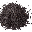 Pile of kalinji spice isolated - Foto Stock
