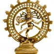 Statue of Shiva Nataraja - Lord of Dance - 图库照片
