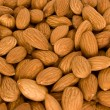 Lot of almonds - Stock Photo