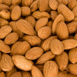 Stock Photo: Lot of almonds