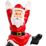 Santa Clause figurine isolated — Stock Photo #1093522