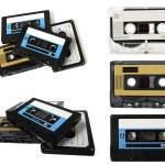 Audio cassette (tape) isolated — Stock Photo