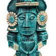 Mayan deity statue from Mexico isolated — Stock Photo #1093543