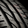 Tire close up — Stockfoto