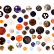 Collection of buttons isolated - Stock Photo