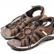 Pair of sport sandals isolated - Photo