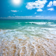 Royalty-Free Stock Photo: Beautiful beach and sea