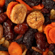Various dried fruits close-up — Stock Photo #1095146