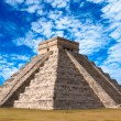 Mayan pyramid in Chichen-Itza, Mexico - Stockfoto
