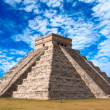 Mayan pyramid in Chichen-Itza, Mexico -  