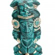 Mayan deity statue from Mexico isolated — Stock Photo #1096010