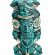 Maydeity statue from Mexico isolated — Stock Photo #1096010