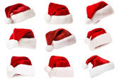 Santa hat isolated on white — Stockfoto
