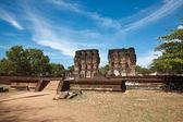 Royal Palace ruins — Stock Photo