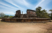 Ancient Vatadage (Buddhist stupa) — Stock Photo