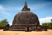 Kiri Vihara - ancient buddhist dagoba (s — Stock Photo