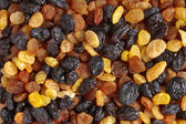 Mixed raisins close up — Stock Photo
