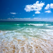 Stock Photo: Beautiful beach and sea
