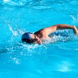 Royalty-Free Stock Photo: Swimming man