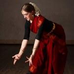 Exponent of Bharat Natyam dance — Stock Photo