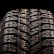 Stock Photo: Tire close up