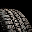 Foto Stock: Tire close up