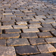 Cobblestone road - Stock Photo