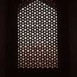 Marble screen window — Stock Photo
