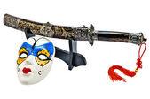 Japanese sword — Stock Photo