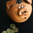 Money-box — Foto Stock